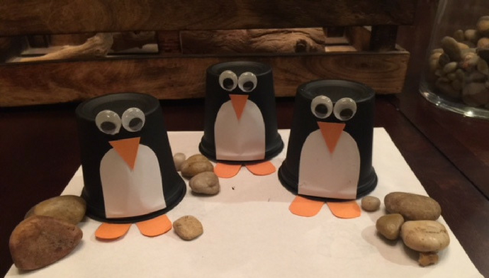 Adorable Penguin Craft for Kids