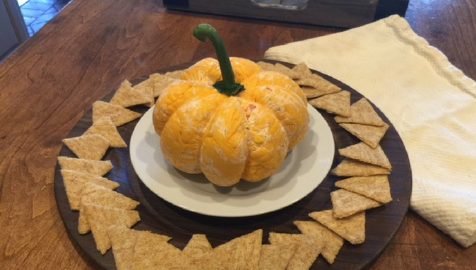 Autumn Pumpkin Cheese Ball