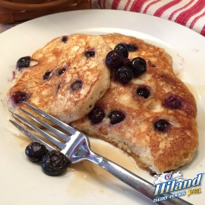 Berry Good Blueberry Buttermilk Pancake Recipe