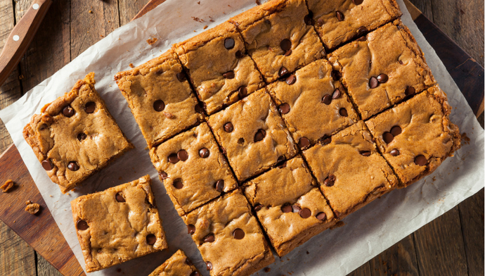 Blonde Brownies Are More Fun