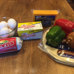 Breakfast Burrito Ingredients