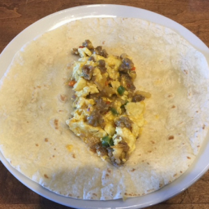 Breakfast Burritos Step 6