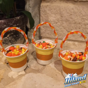 Candy Corn Treat Cups Craft