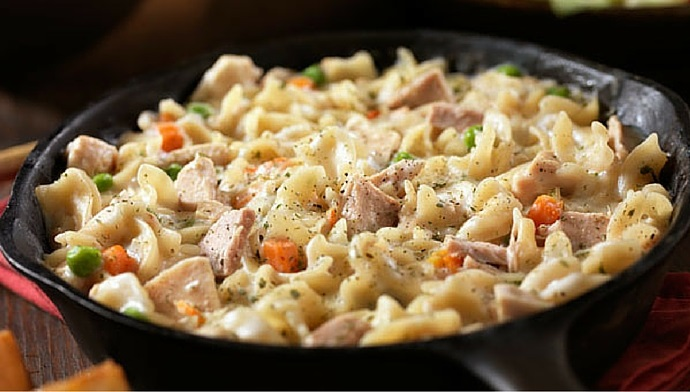 Celebrate National Noodle Day with this AHH-MAZING Tuna and Noodle Casserole