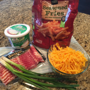 Cheddar Cheese Fries Ingredients