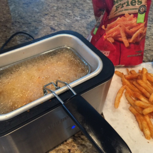 Cheddar Cheese Fries Step 1