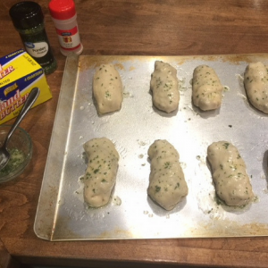 Cheesy Taco Breadsticks Step 5