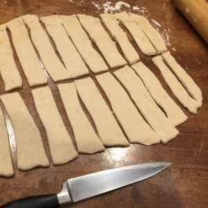 Cheesy Witch Finger Breadsticks Step 3