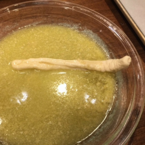 Cheesy Witch Finger Breadsticks Step 4