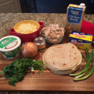 Chicken Enchiladas With Green Chili Cream Sauce Ingredients