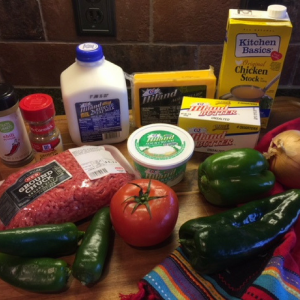 Chile Con Queso Ingredients