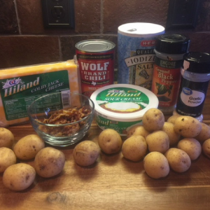 Chili Cheese Potato Bites Ingredients