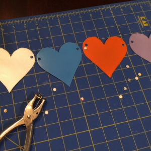 Conversation Heart Banner Step 3