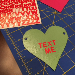 Conversation Heart Banner Step 4