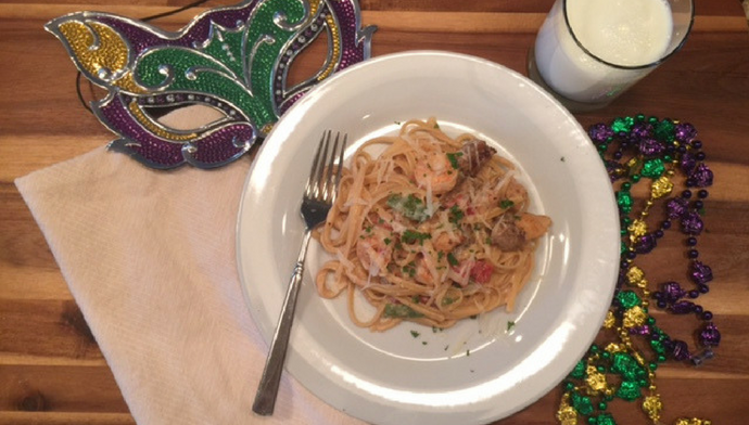 Creamy Cajun Pasta Recipe for Fat Tuesday