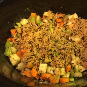 Creamy Chicken and Wild Rice Soup Step 3