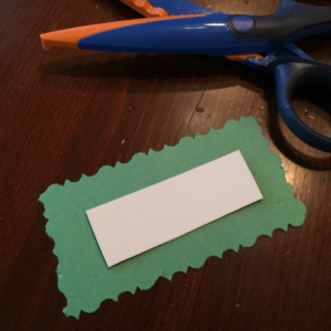 DIY Holiday Card Step 6