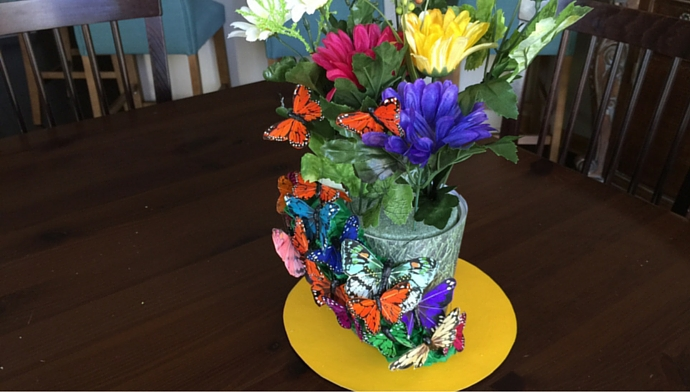 DIY Kentucky Derby Centerpiece