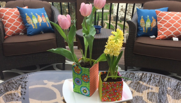 DIY Spring Flower Pot