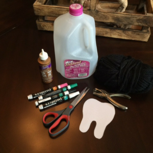 DIY Tooth Fairy Pouch Supplies