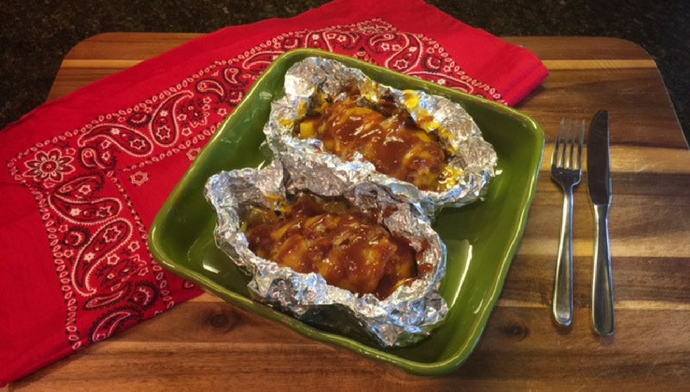 Easy BBQ Chicken Foil Packs