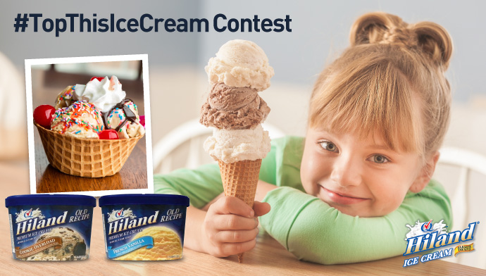 Enter Our #TopThisIceCream Contest!