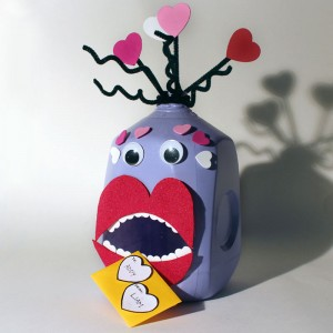 Finished Love Monster Valentine Box