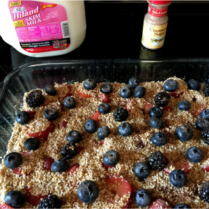 Fruity Baked Oatmeal 2