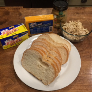 Grilled Chicken and Cheese Sandwich Ingredients