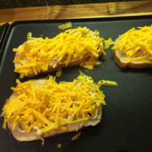 Grilled Chicken and Cheese Sandwich Step 2