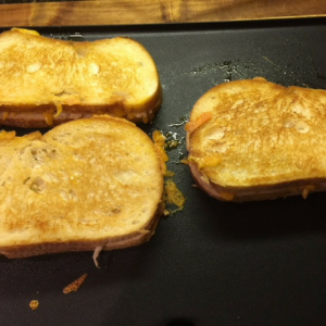 Grilled Chicken and Cheese Sandwich Step 3