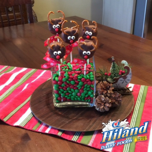 Holiday Reindeer Treats Recipe