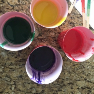 Homemade Crayon Candle Step 5