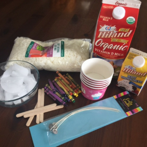Homemade Crayon Candle Supplies