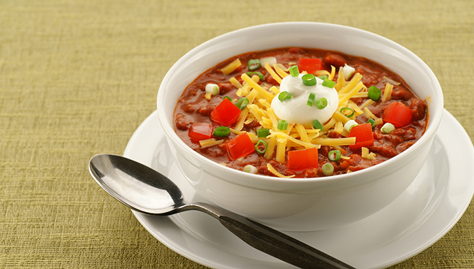 Chilly? No, Chili!