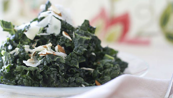 Kale Slaw with Citrus Dressing