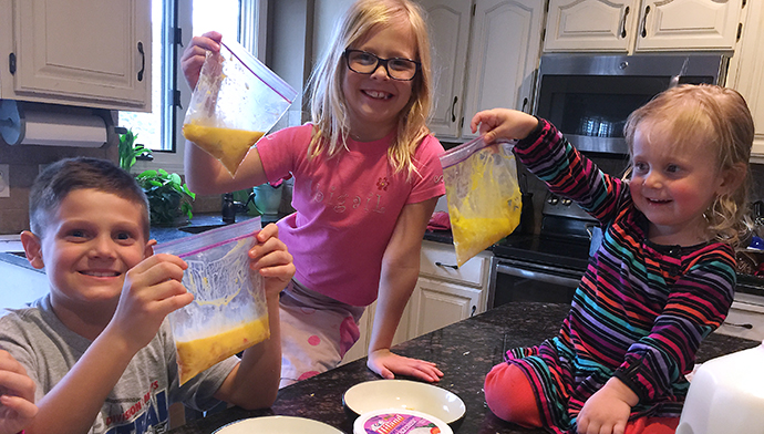 Kid Friendly Recipe Baglets