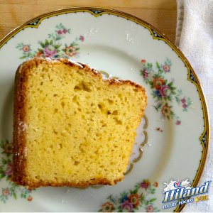 Lemon Sour Cream Pound Cake Recipe