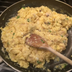 Loaded Scrambled Eggs Step 4