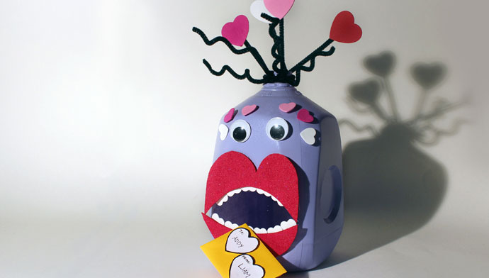 """Love Monster"" Valentine's Day Box"