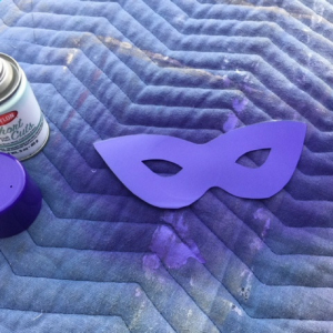 Mardi Gras Mask Step 2
