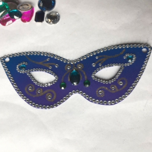Mardi Gras Mask Step 6