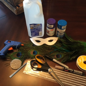 Mardi Gras Mask Supplies