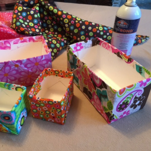 Milk Carton Storage Boxes Step 4
