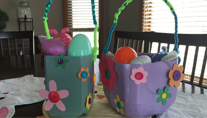 Milk Jug Easter Basket