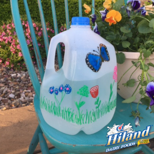 Milk Jug Watering Can Craft
