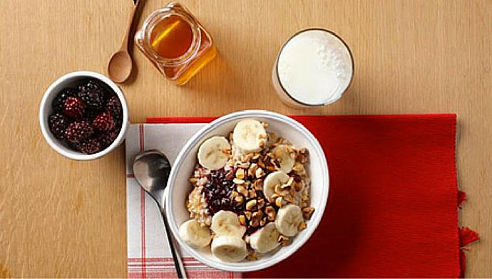 Morning Protein - Blackberry Hazelnut Power Bowl
