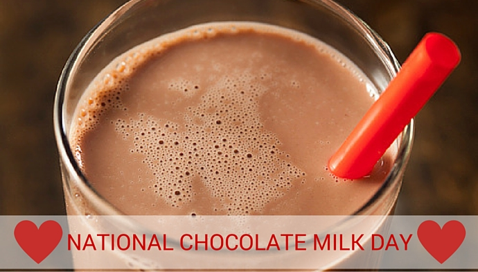 It's National Chocolate Milk Day!