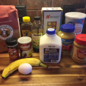 Oatmeal Peanut Butter Bars Ingredients