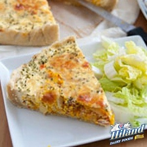 Pumpkin Quiche with Quinoa Crust Recipe